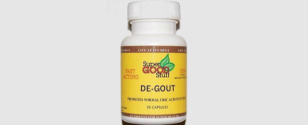 De-Gout Natural Gout Treatment Solutions Review