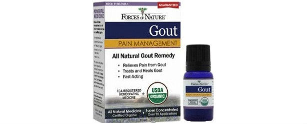 Forces Of Nature Gout Pain Management Review