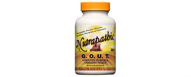 Nutrapathic Natural Remedy For Gout Review