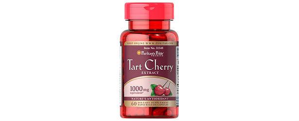 Puritan's Pride Tart Cherry Extract Review