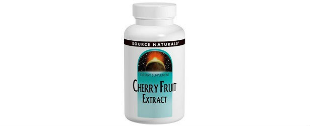 Source Naturals Cherry Fruit Extract Review